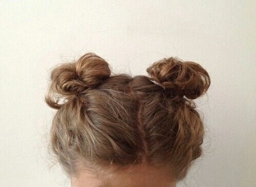 Aesthetic Beige Brown Brown Hair Buns Hair Styles Tumblr Hair Beautiful Hair