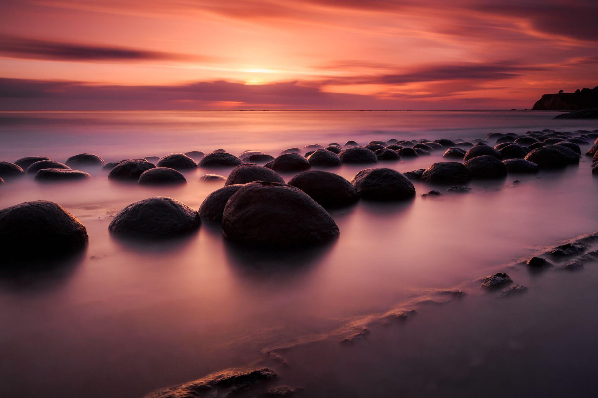 Bowling Ball Beach, Northern California [2,048x1,365] [OC