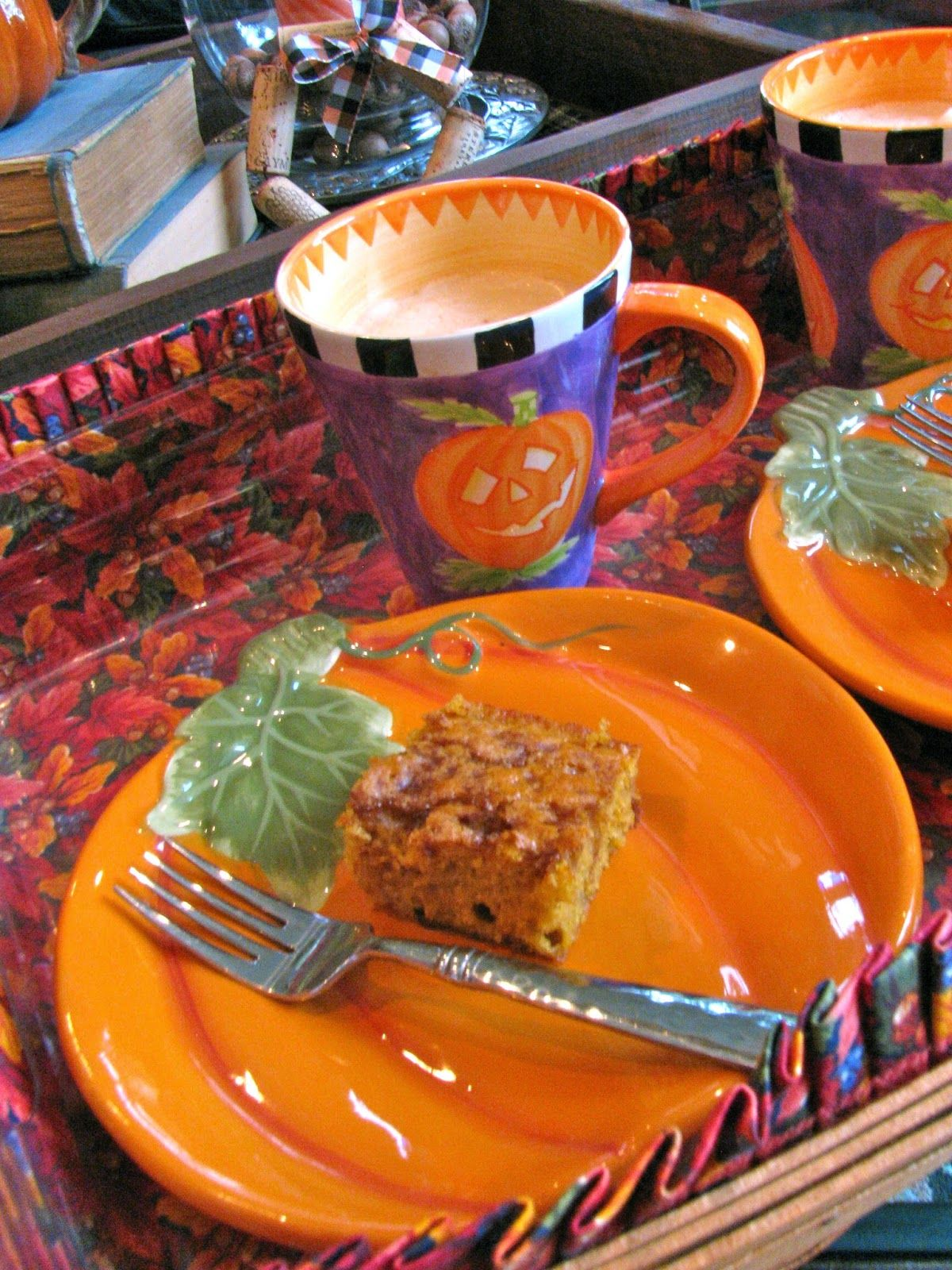 Rita's Recipes: Pumpkin Maple Coffee Cake