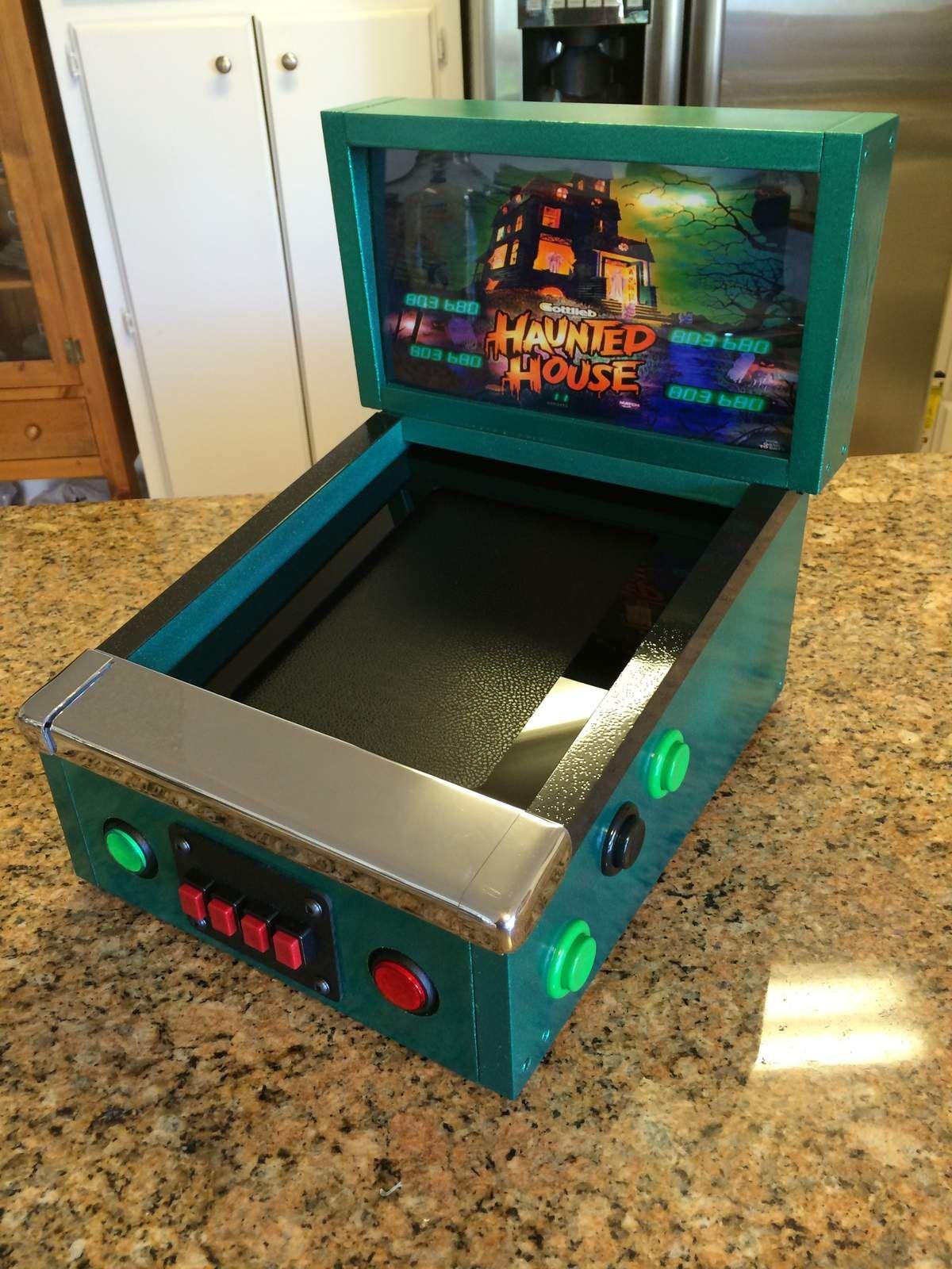 Mini Pinball iCade | MAME | Retro arcade games, Arcade games
