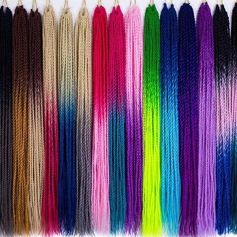 Syntetyczne Sztuczne Doczepy Wlosy Mini Warkoczyki 8474151376 Allegro Pl Senegalese Twist Hairstyles Senegalese Twist Twist Hairstyles