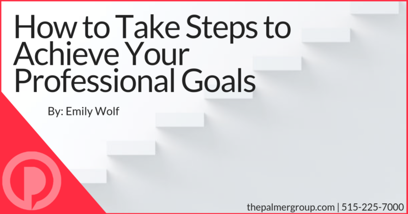 How To Take Steps To Achieve Your Professional Goals Career