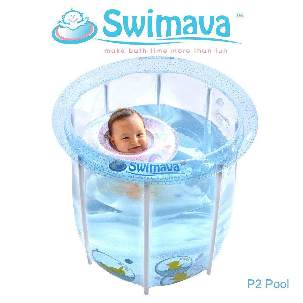 Summer Sales! Swimava P-2 Inflatable Pool + G1 Baby floaties + Swim ...