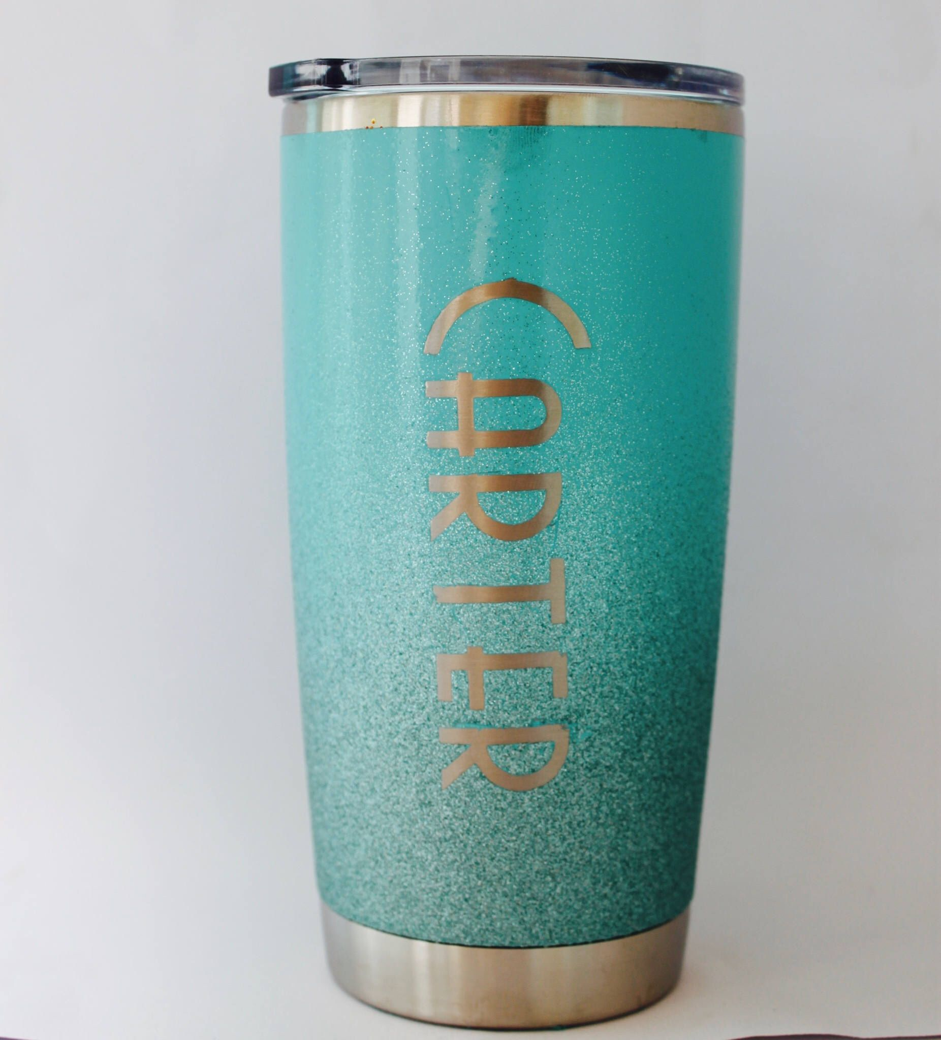 A personal favorite from my Etsy shop https://www.etsy.com/listing/533234004/yeti-painted-yeti-personalized-tumbler