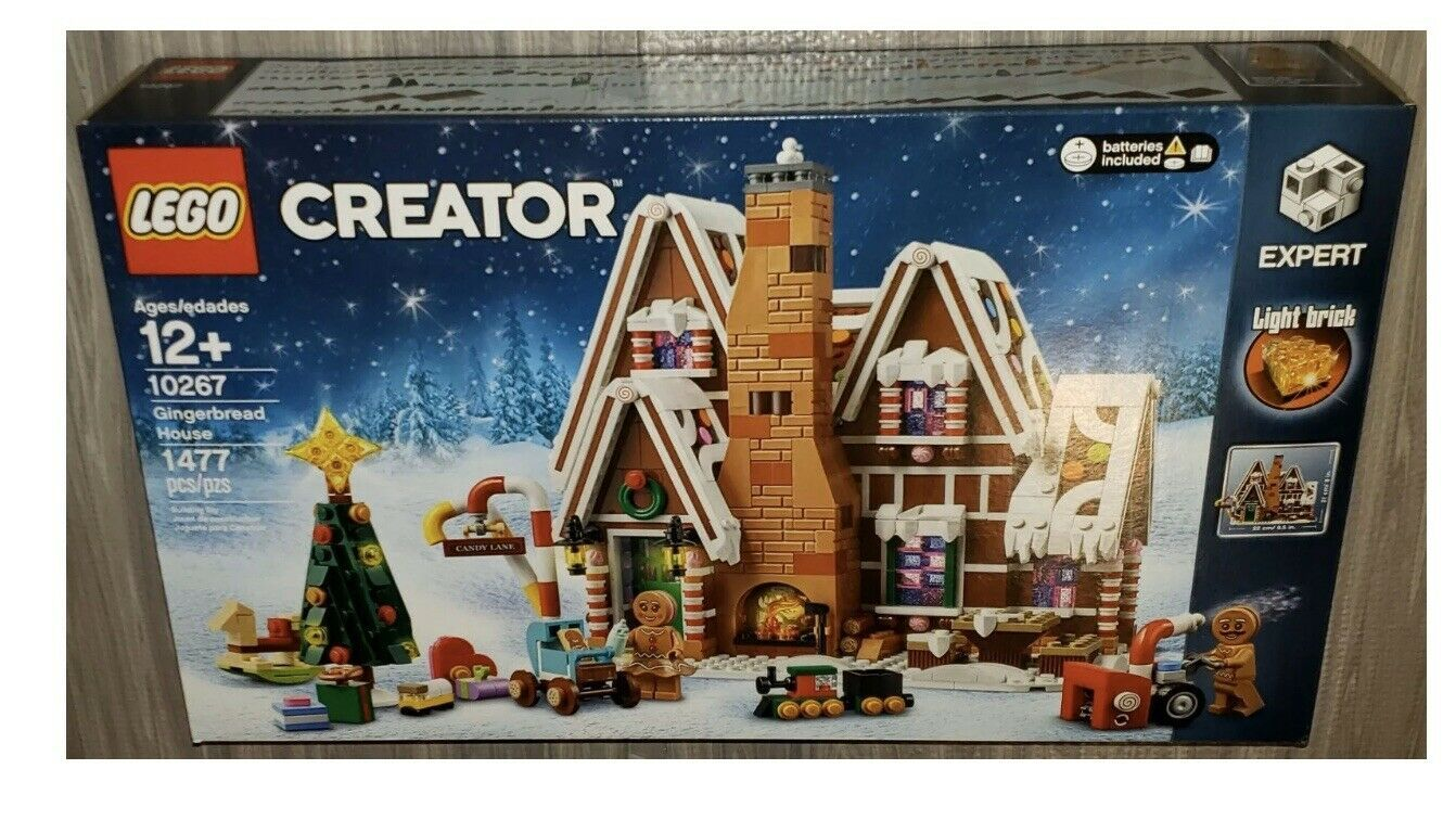 Lego 10267 Creator Gingerbread House New US Seller Lego