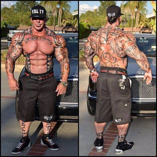 Rich Piana Synthol Muscle Supplements Natural Bodybuilding