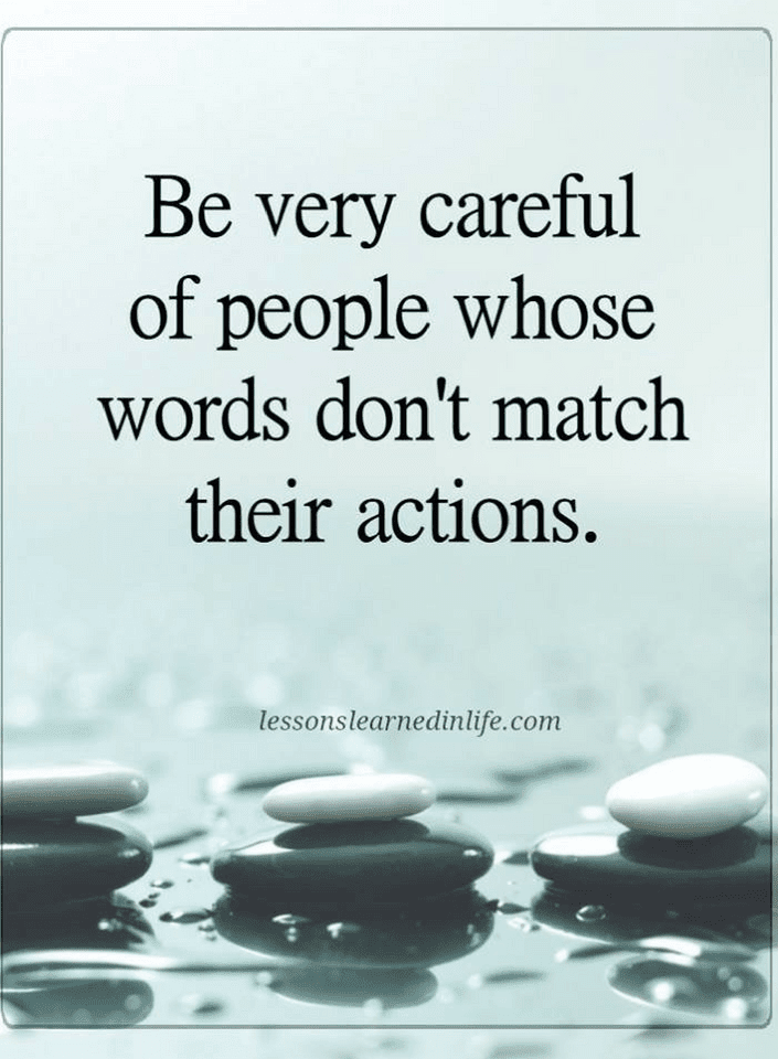 The easiest way to find the right people is by watching their words and actions | Quotes - Quotes