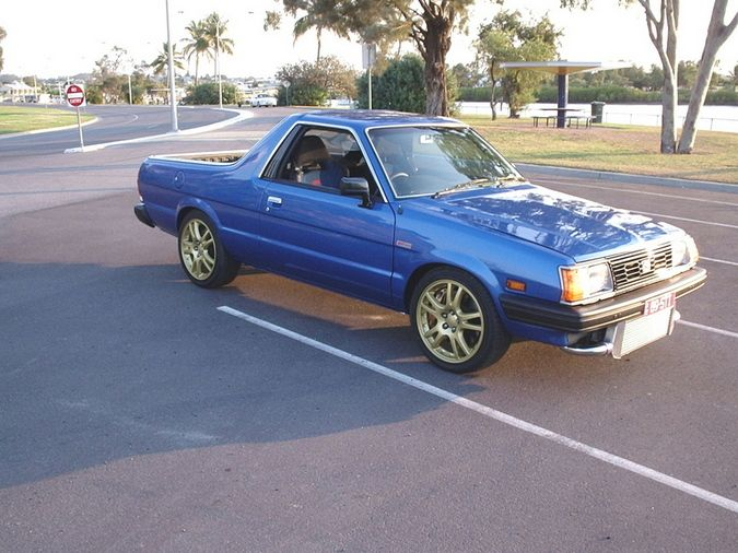 Drag To Resize Or Shift Drag To Move Subaru Brat And