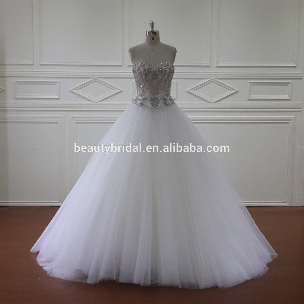 Wedding dresses with rhinestones  sleeveless rhinestone crystal beadingwedding dresses View latest