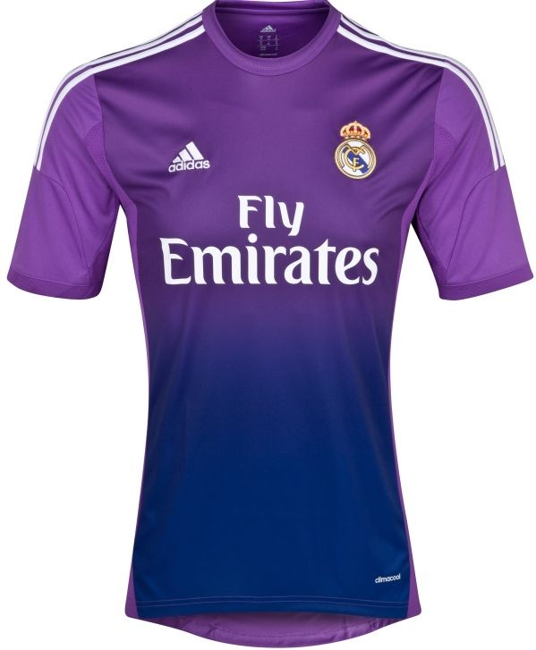 76d231e4fa5 Real Madrid Goakeeper Shirt 13-14 Adidas Fly Emirates