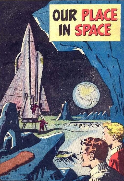 """Our Place In Space"" ~ ca.1950s"