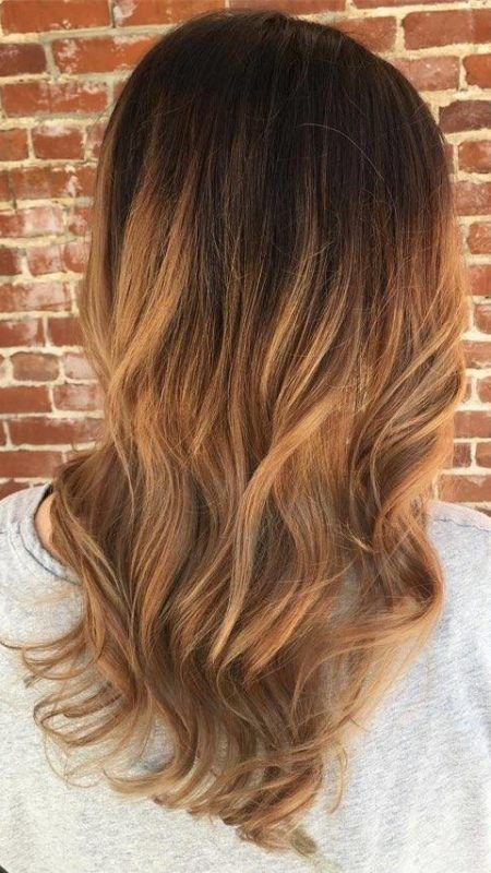 Caramel Ombre Hair Colors For 2018 Pelo Pinterest Caramel