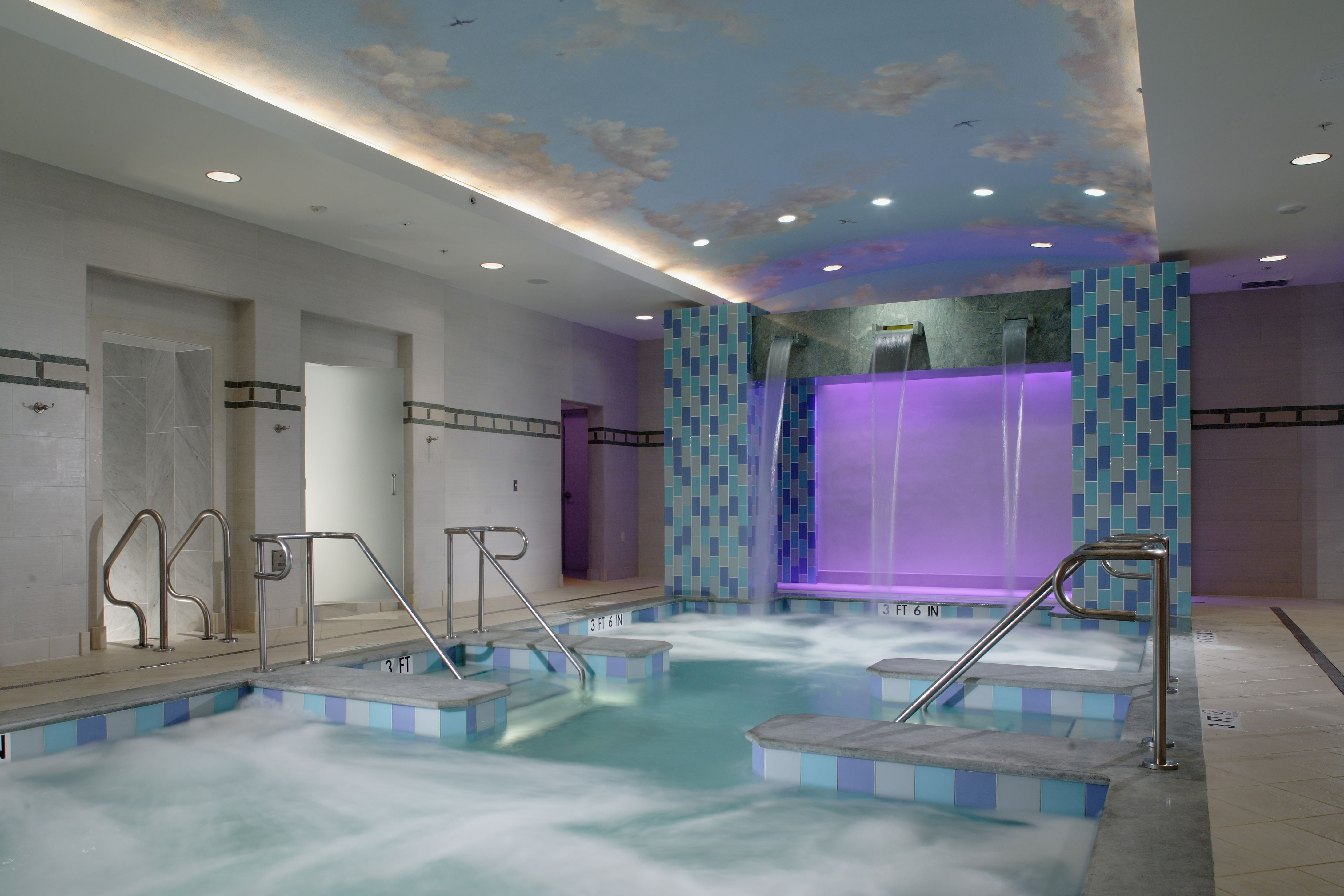 ladies wet area at boca west country club #bocawestcc | the spa at