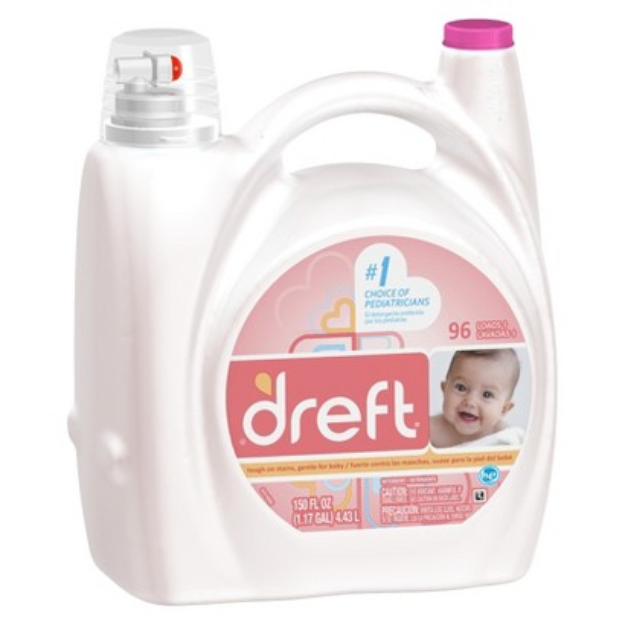 I M Learning All About Dreft High Efficiency Liquid Laundry