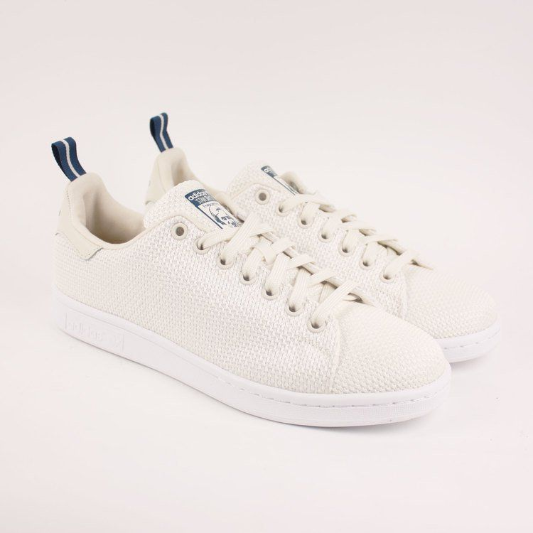 清爽夏季!adidas Stan Smith 編織設計 Circular Knit「Chalk White」鞋款