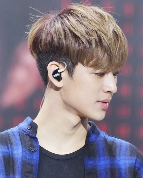 Yunhyeong Ikon Songs, Two Block Haircut, Korean Haircut Men, Korean  Hairstyles,
