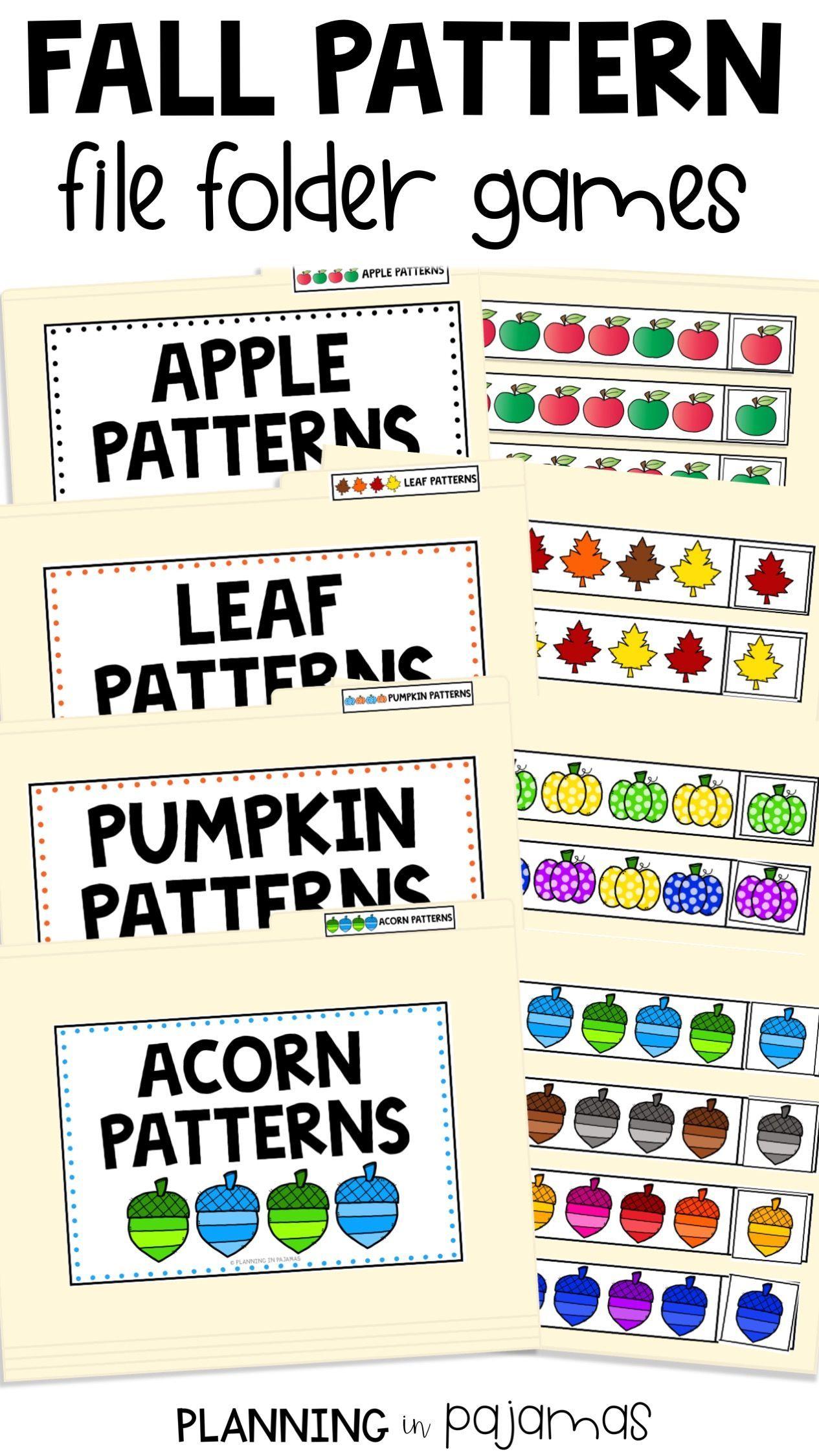Fall Pattern Activities Includes Pumpkins Acorns Apples And Leaves 10 Worksheets Asking Preschool Pattern Worksheets Preschool Patterns Pattern Activities [ 2249 x 1265 Pixel ]