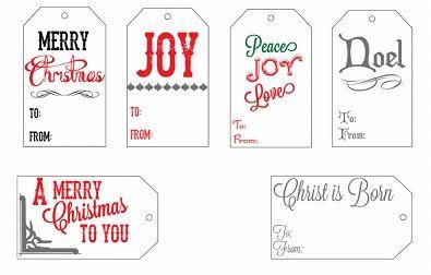 Christmas Gift Tags Pinterest.Free Printable Christmas Tags Templates Pinterest Free