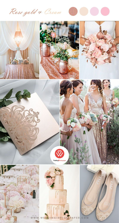 Top 9 Elegant Spring & Summer Wedding Color Palettes for