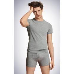 T-Shirts für Herren -  2er Set Shirt kurzarm Shorts grau meliert – Revival Ludwig 7Schiesser.com  - #curbywomen #für #getal #herren #lingrie #loving #people #presentideasforwomen #shirts #Tshirts #womenbodybuilders