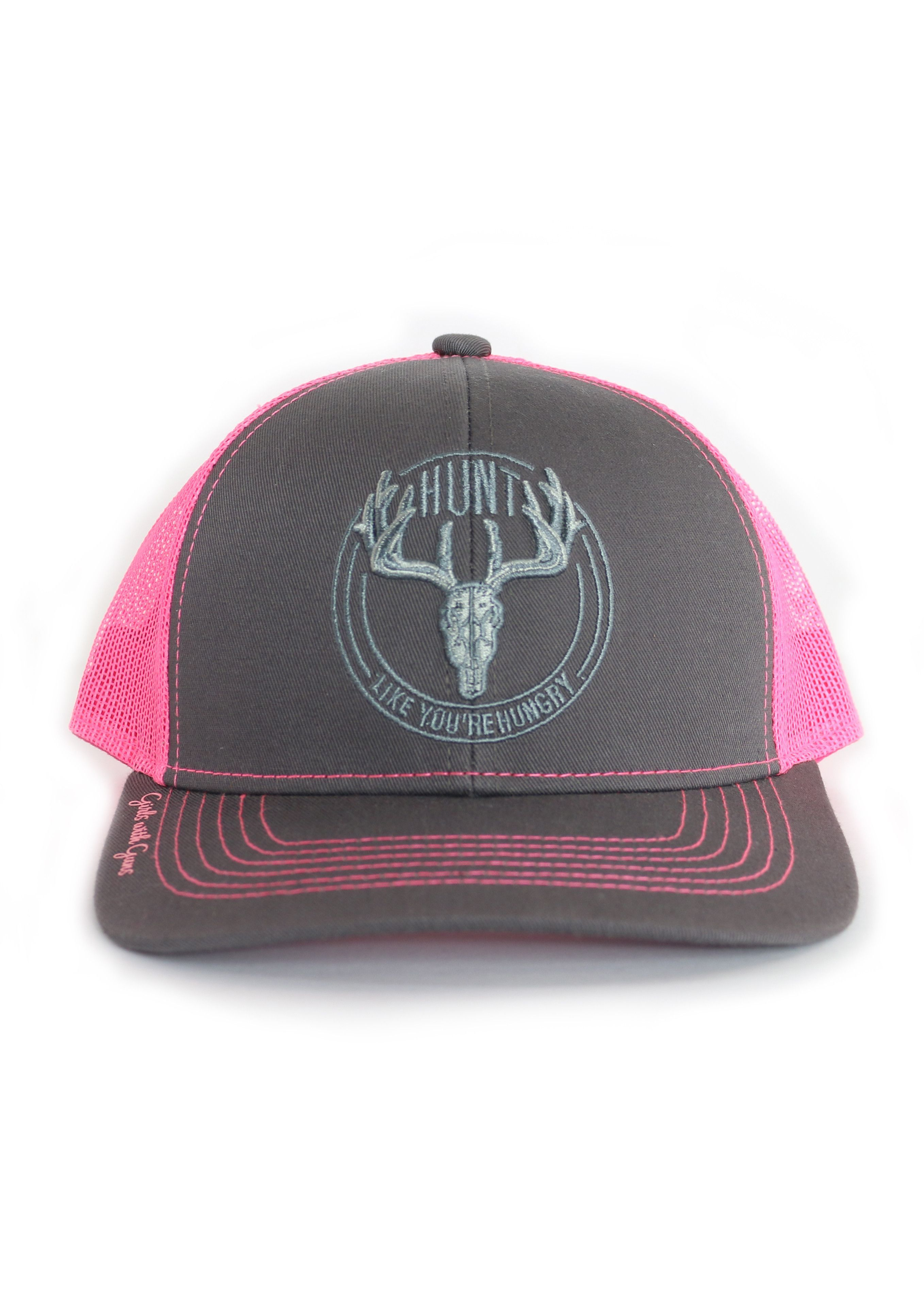 Hunt Like You're Hungry Hat Hats, Guns clothing