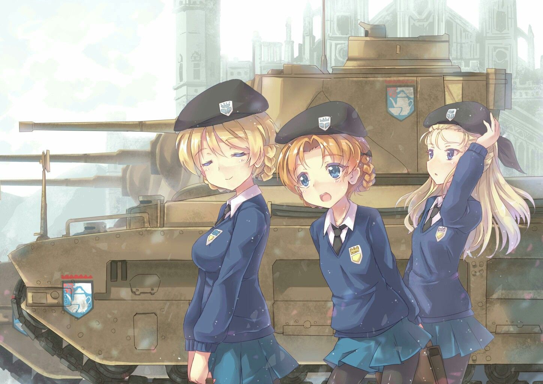 Pin Oleh Mark Anthony Di Girls Und Panzer Ilustrasi Manga Gadis Animasi Animasi