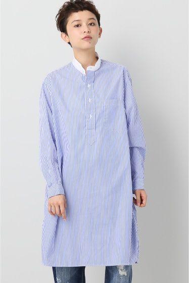 Gitman Vintage/ギットマンヴィンテージ ストライプパジャマシャツ