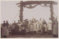 Oisterwijk viert in 1913 honderd jaar onafhankelijkheid. Collectie Regionaal Archief Tilburg Fotonummer 078729