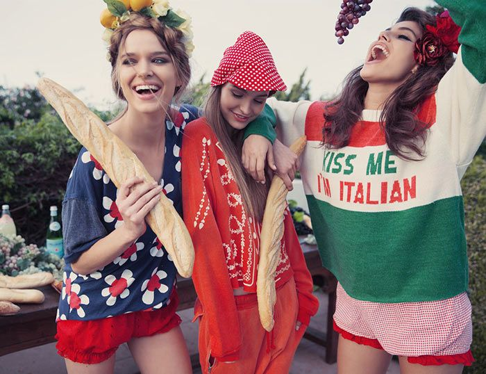 Wildfox Couture La Dolce Vita Fall 2015 Lookbook  #Fashion #Italy