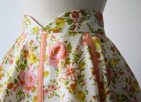 adorable vintage inspired skirt!!!