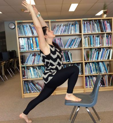 chair yoga sequence  mindfulness with images  chair