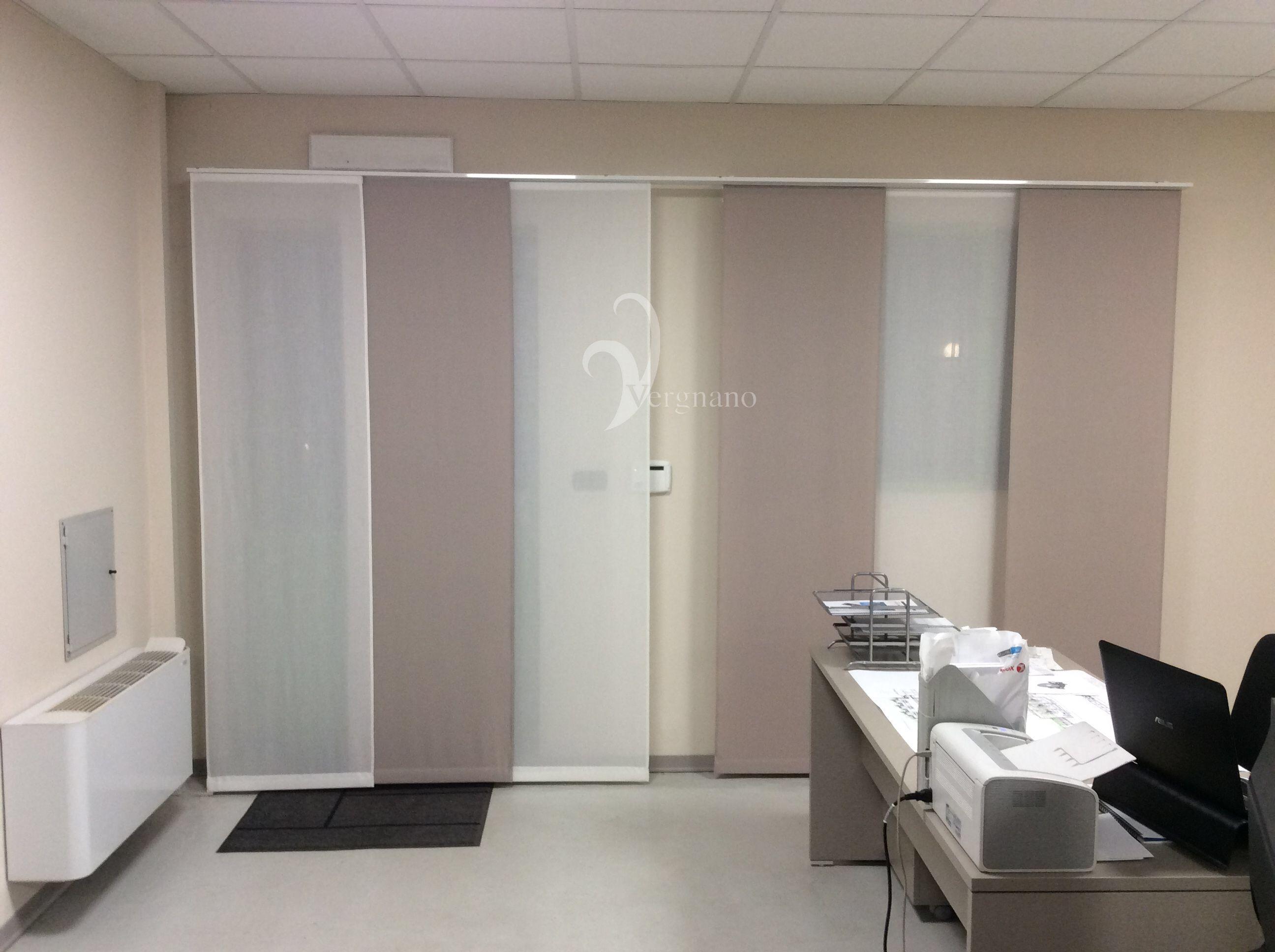 Tende Per Ufficio A Pannelli : Tende a pannello moderne in tessuto ignifugo per ufficio tende a