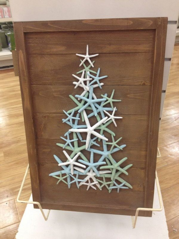 diy beach inspired holiday decoration ideas starfish christmas beach christmas decorations