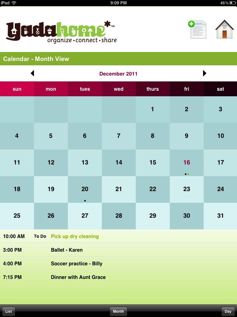 Family calendar iPhone app awesome! Family calendar