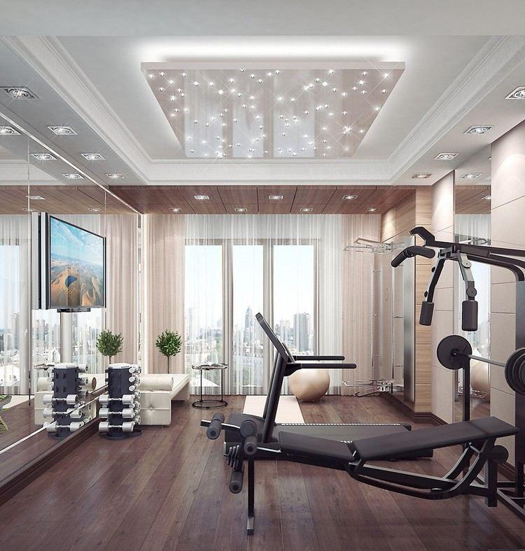 LED Spots an der Decke sorgen für genug Licht | fitness | Pinterest ...