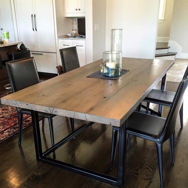 Reclaimed Lumber Wood Furniture Plank Flooring Modern Interior Nashville Tennessee