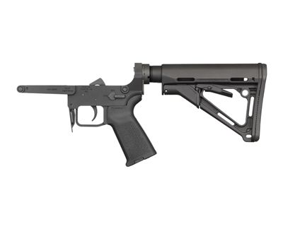 CMMG MK47 Mutant Completed Lower Receiver w/ CTR Stock - BLACK