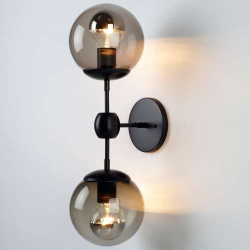 modo wall sconce 2 globes y living lighting pinterest wall