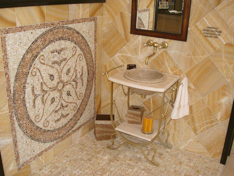 Make Your Bathroom Distinct With Honey Onyx Stone