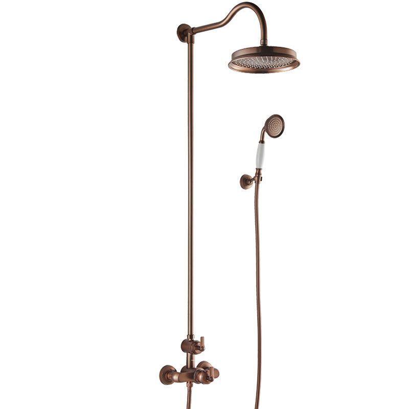 colonne de douche cuivre