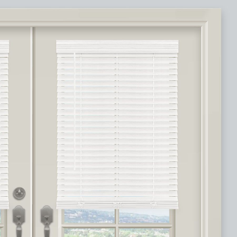 2 Essential Cordless Faux Wood Blinds In 2020 Wood Blinds Blinds Faux Wood Blinds