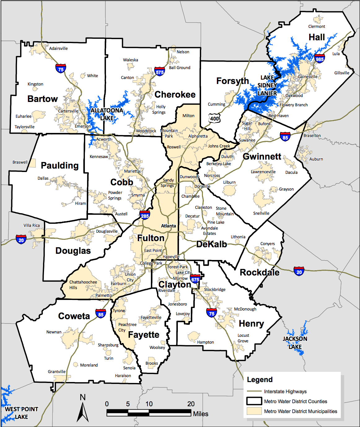 What Cities Are In Dekalb County