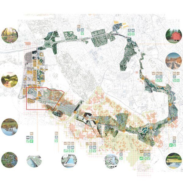 Master Plan Drawings: Gallery Of Patchwork City Masterplan / OOIIO Architecture