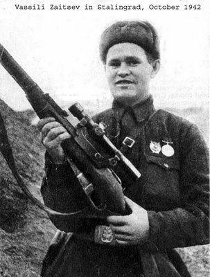Vassili Zaitsev um dos melhores atiradores da história.