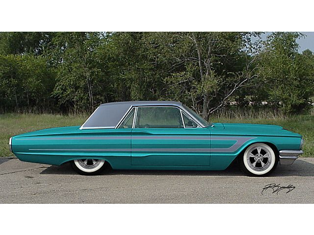 1964 Ford Thunderbird With Images Ford Thunderbird
