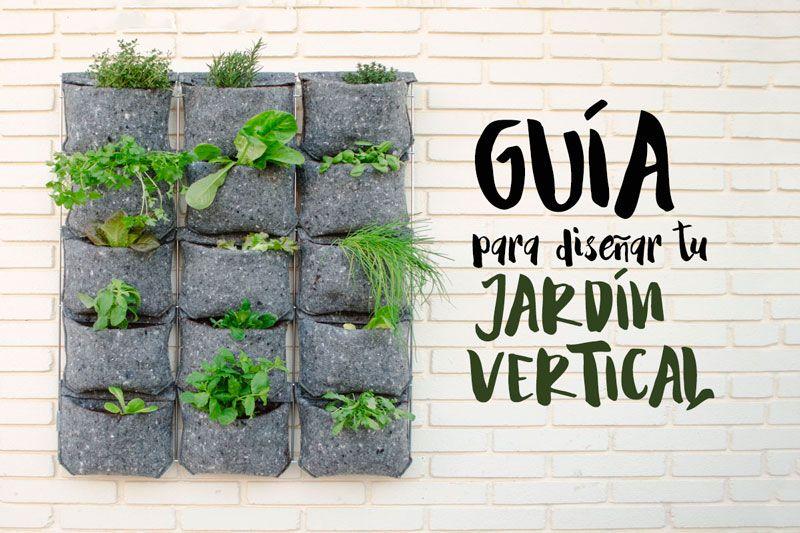 Gu a para dise ar un jard n vertical en el huerto urbano for Como disenar un jardin vertical