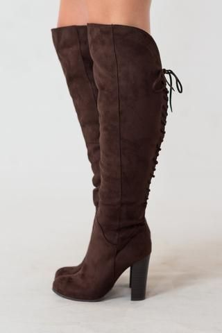The Amaretto Over The Knee Boots