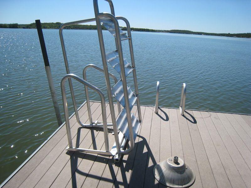 Easy Climb Ladder Kroeger Marine Construction Ladder Boat Lift Dock Boat Lift
