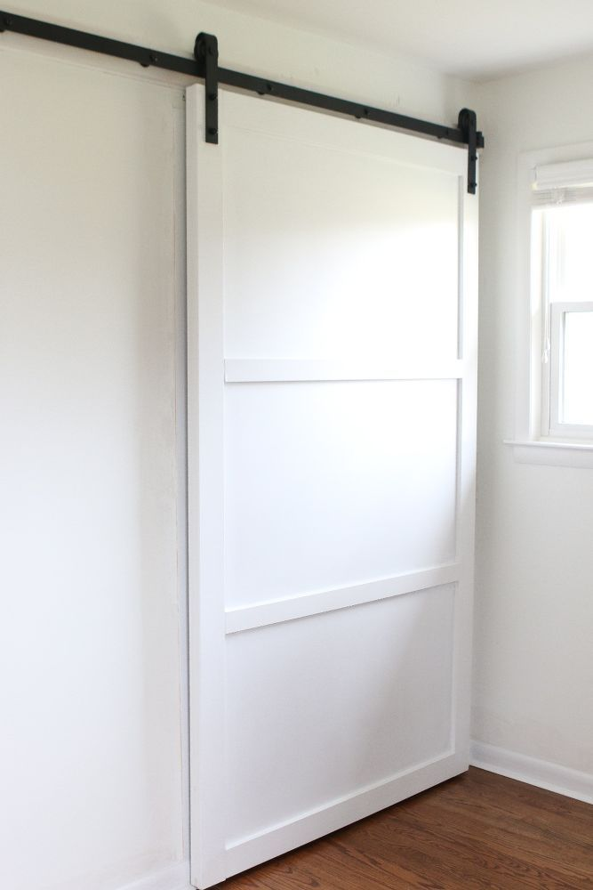 How to DIY a Barn Door When you're SO over your