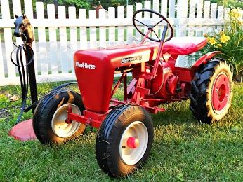 Lane Ranger S 1958 Wheel Horse Rj Garden Tractor